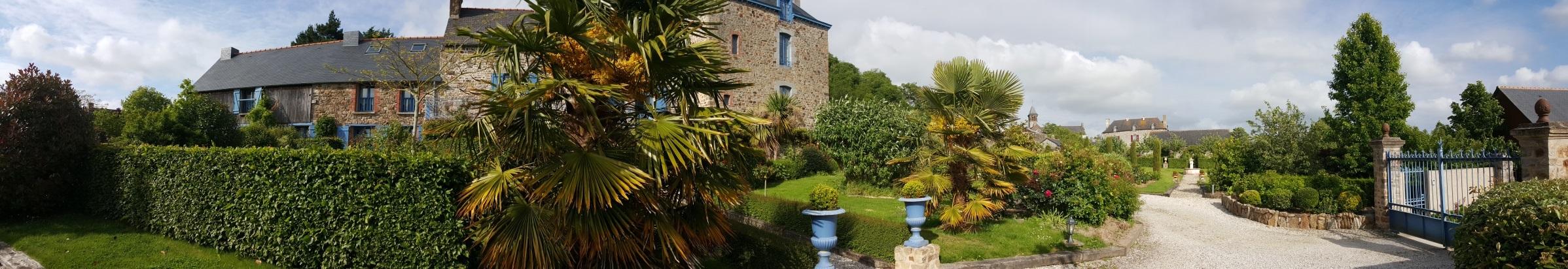 Maisons et chambres d'hôtes de charme près de Saint-Malo en Baie du Mont Saint-Michel en Bretagne, France.
