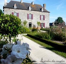 Chambre hote saint malo charme le jardin des simples - Chambre d hote mont saint michel charme ...